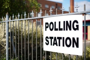 Directions to UK polling station